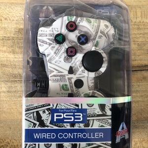 PS3 Arsenal Money Print Game Controller